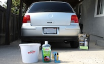 Turtle Wax Rinse Free Wash & Wax, rain-x Deep Cleaning Windshield