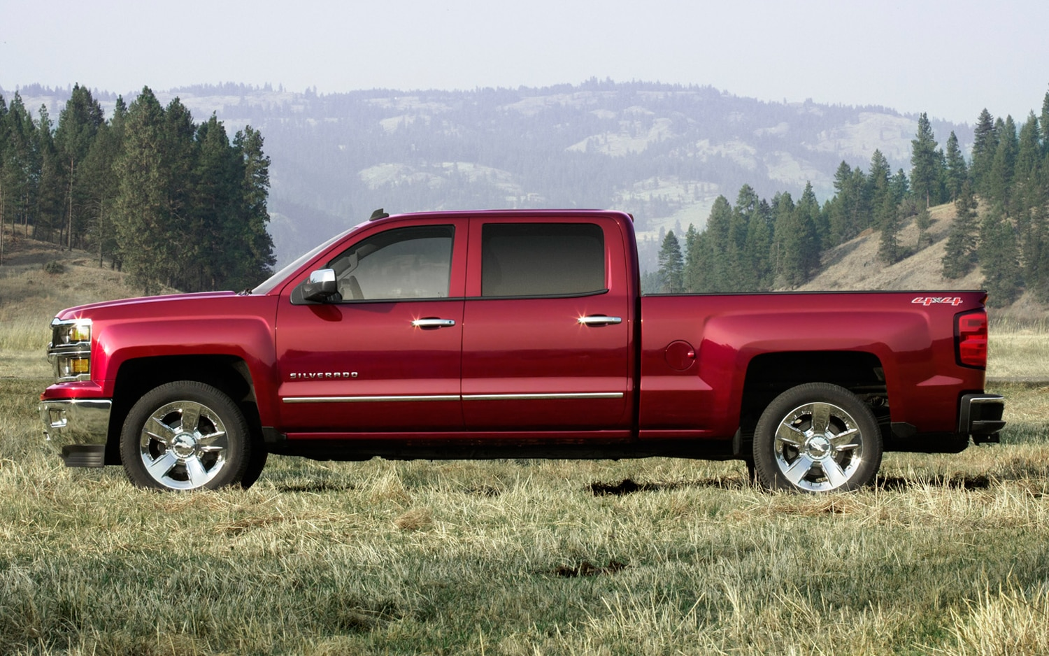2014 Chevrolet Silverado Side Profile
