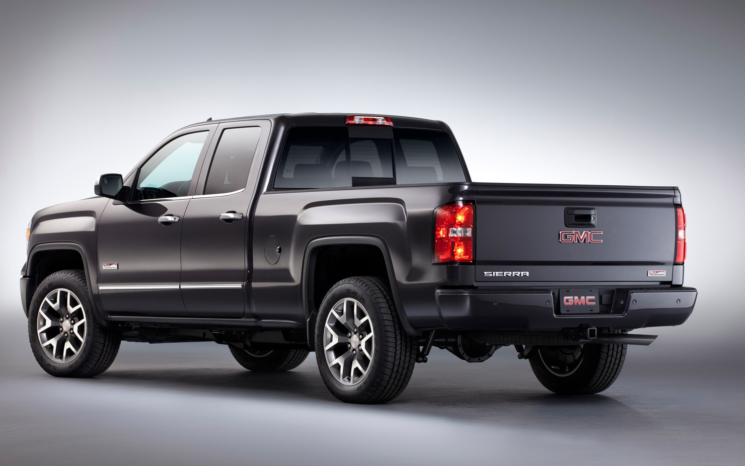 2014 GMC Sierra Rear View