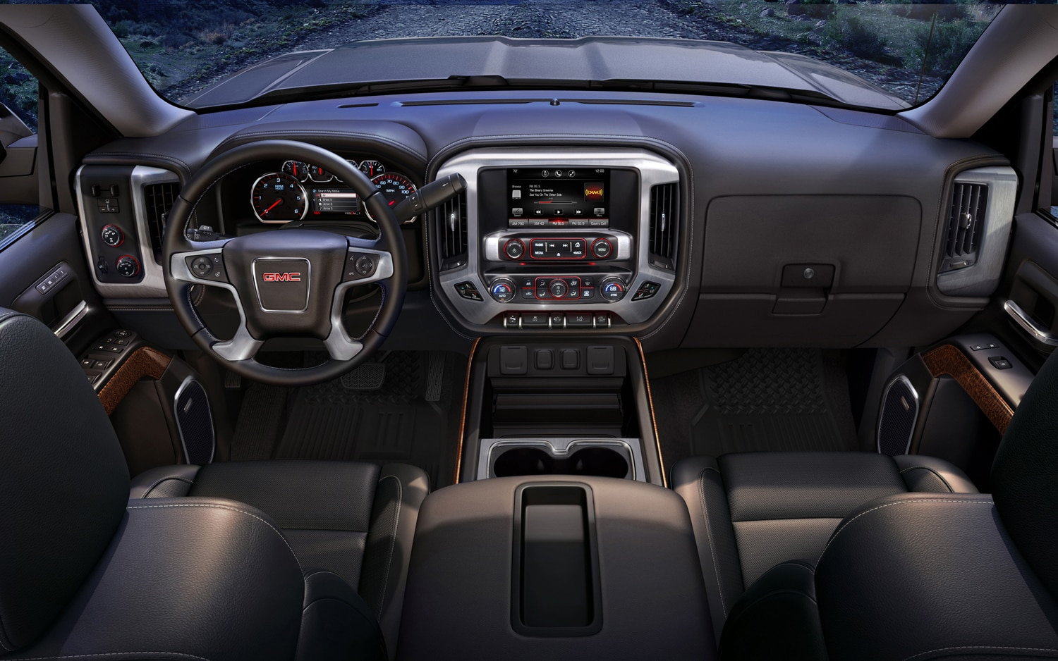 2014 GMC Sierra SLT Full Dash And IP