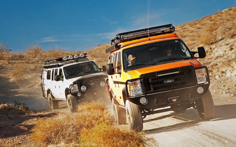 Travel Prospecting: Seeking California Ore in Sportsmobile 4WD Vans