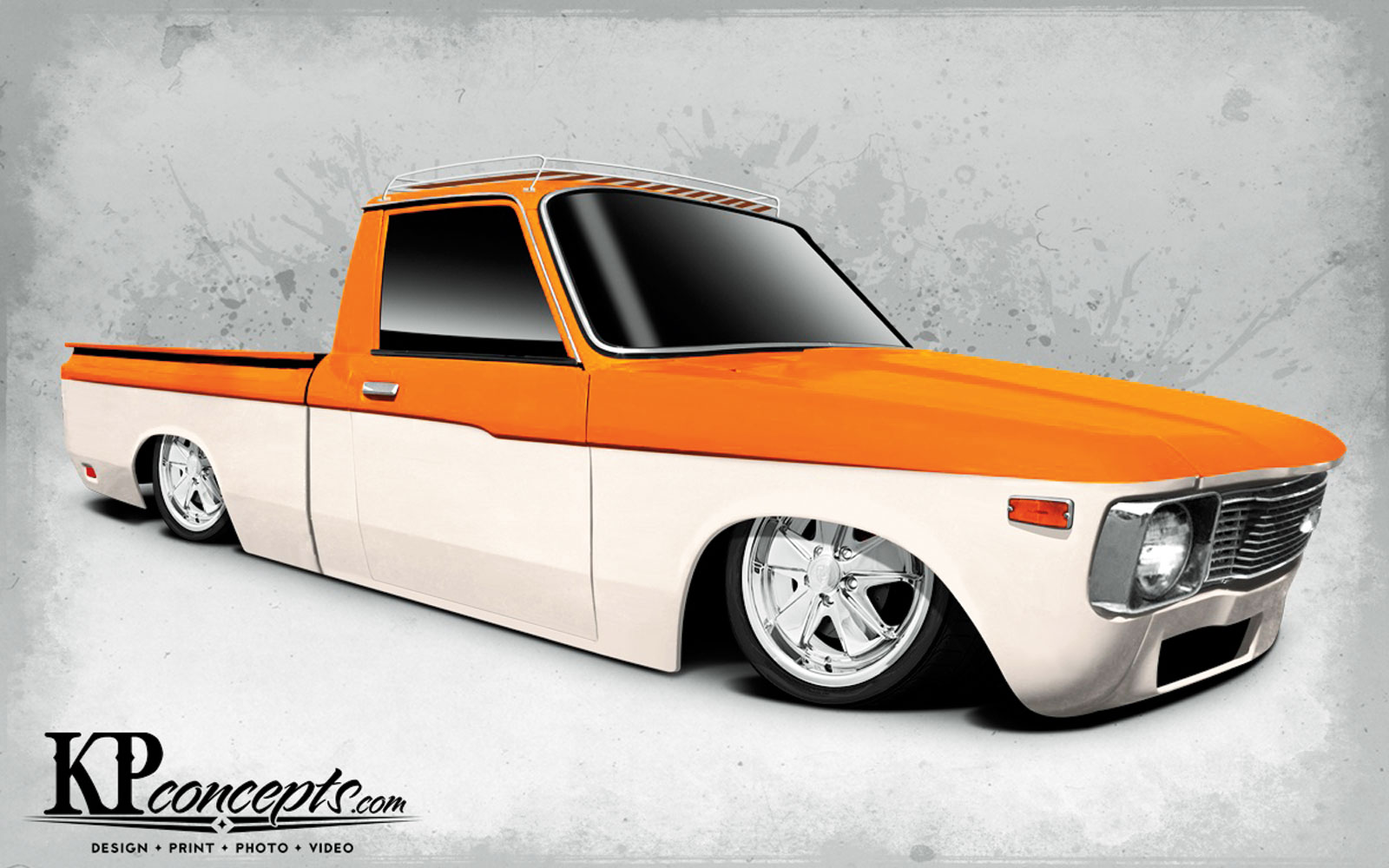1302mt 01 Chevy Luv Four Link Render