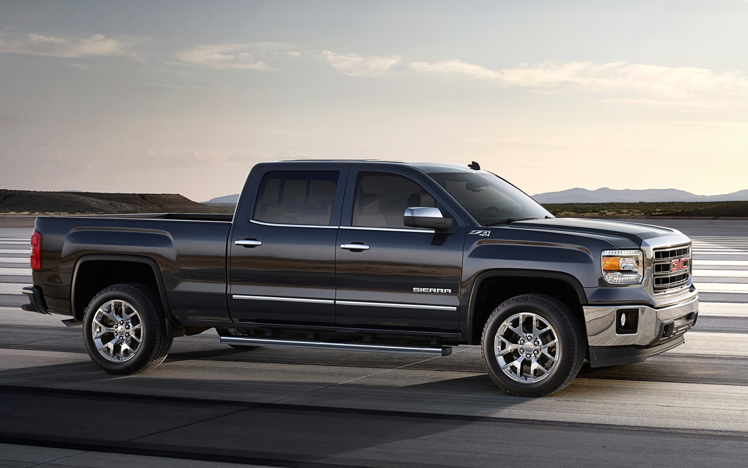 2014 GMC Sierra Side Profile