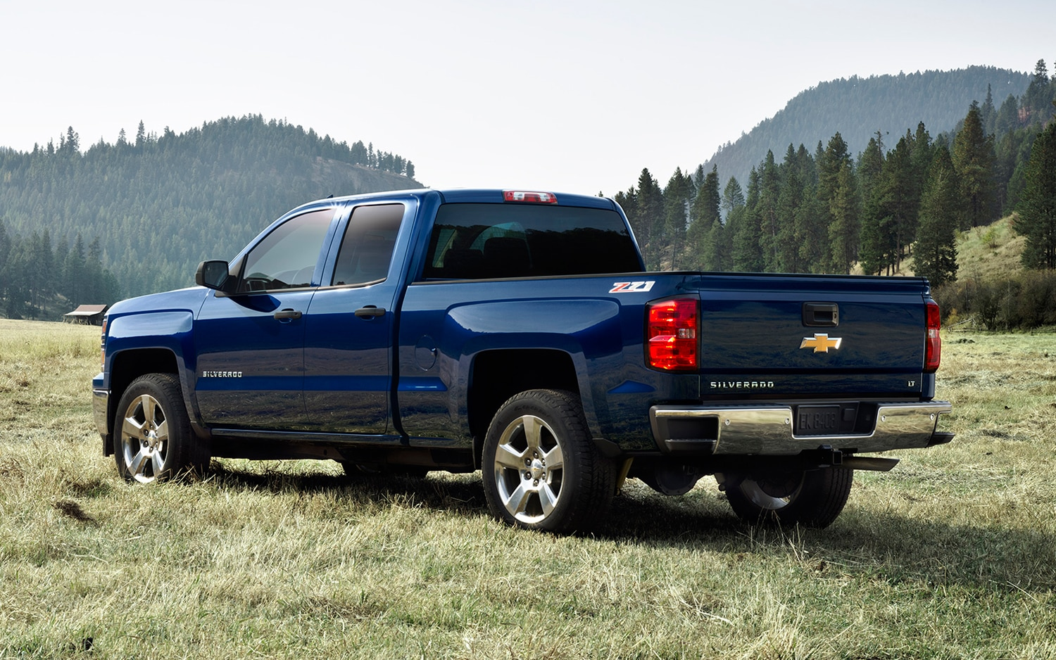 2014 Chevrolet Silverado LT Rear