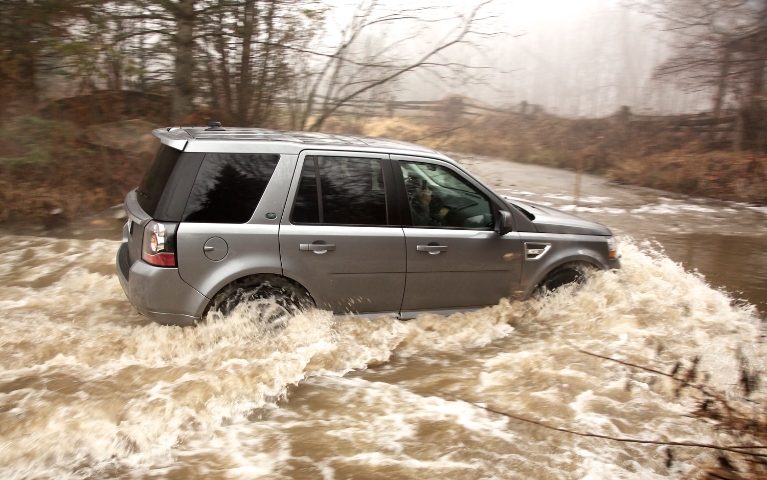 2013 Land Rover LR2 In Water
