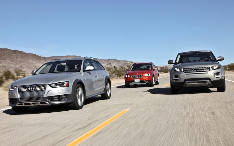 2013 Audi Allroad vs. 2013 BMW X1 vs. 2012 Range Rover Evoque Comparison