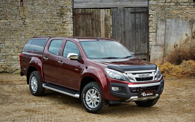 Isuzu Adds New Accessories for D-Max in Europe