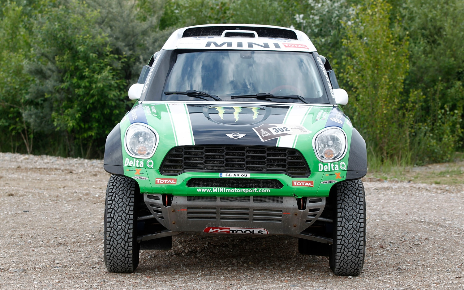 2013 Mini Countryman S ALL4 John Copper Works Monster Energy Dakar Rally Vehicles Image 3
