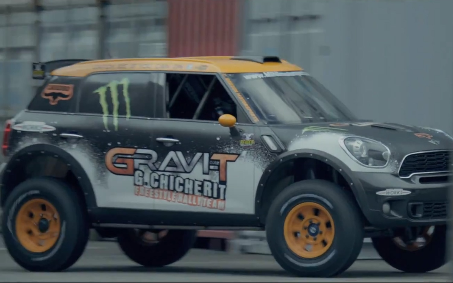 Modified Mini Countryman John Cooper Works Backflip Video Image 2