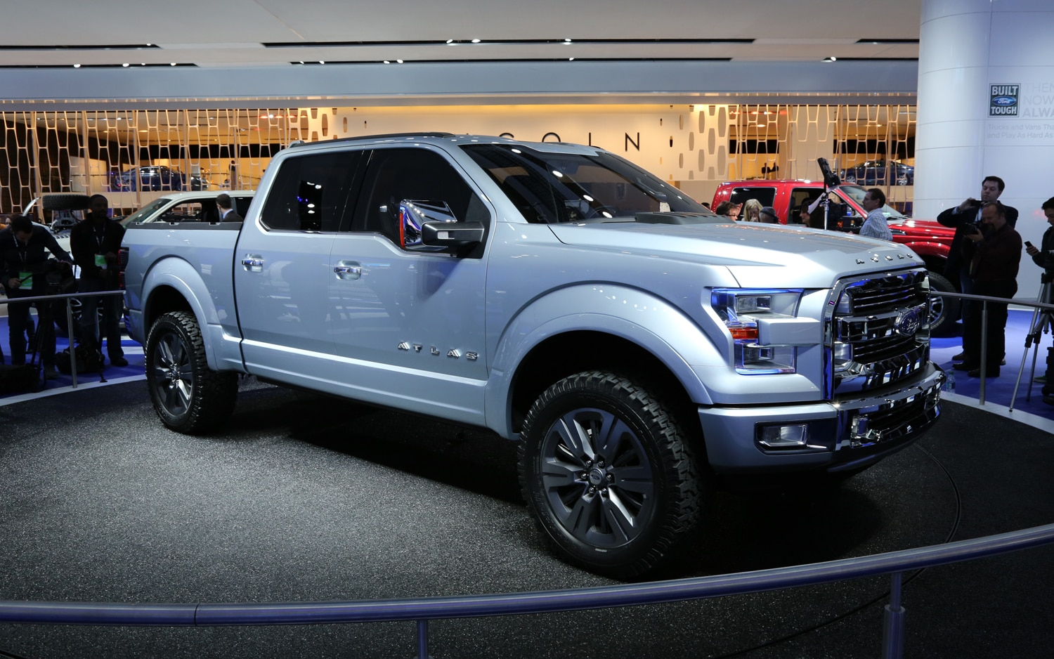 Ford Atlas Concept Front Three Quarters