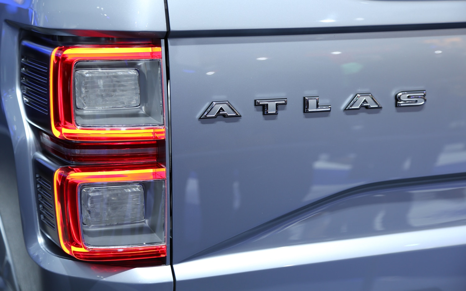 Ford Atlas Concept Taillight