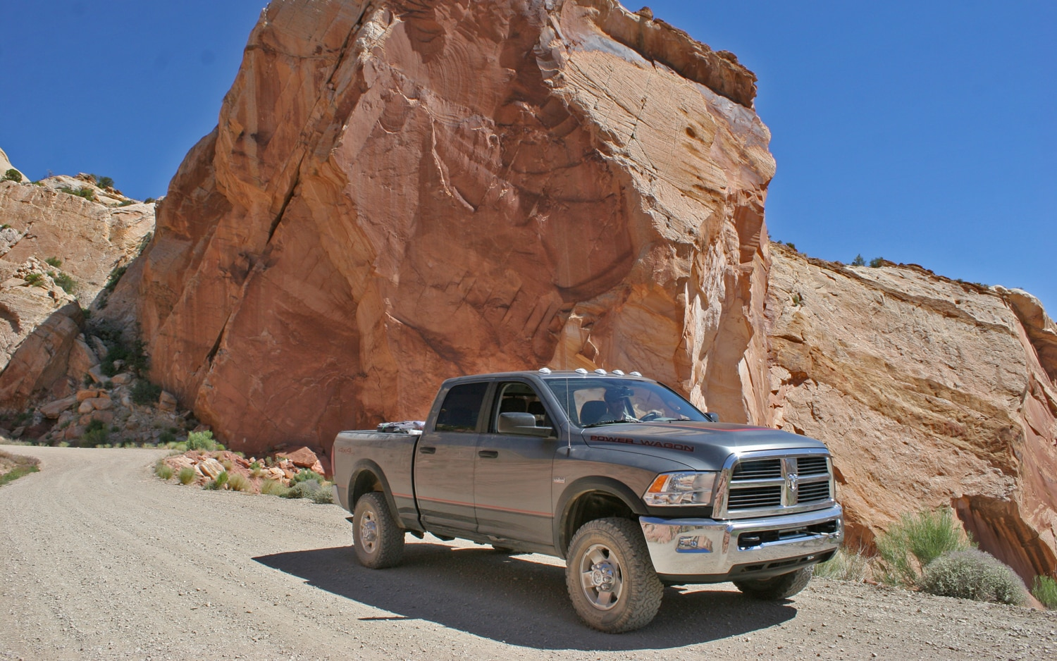 Ram Power Wagon Switch Backs Front Three Quarters