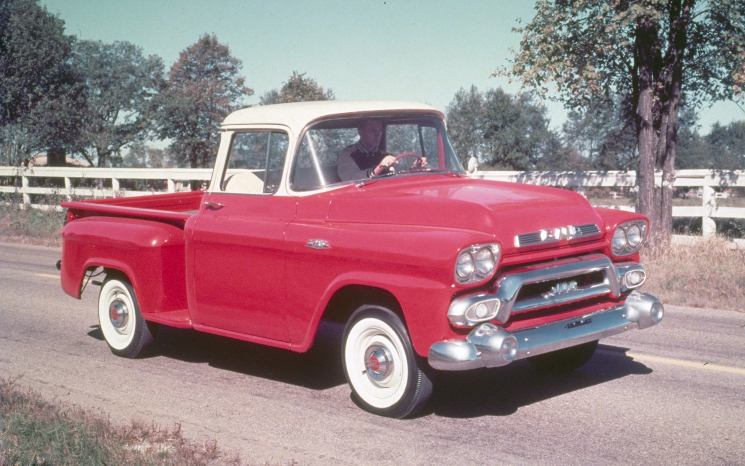 1958 GMC Half Ton Series 100 Fender Side Pickup