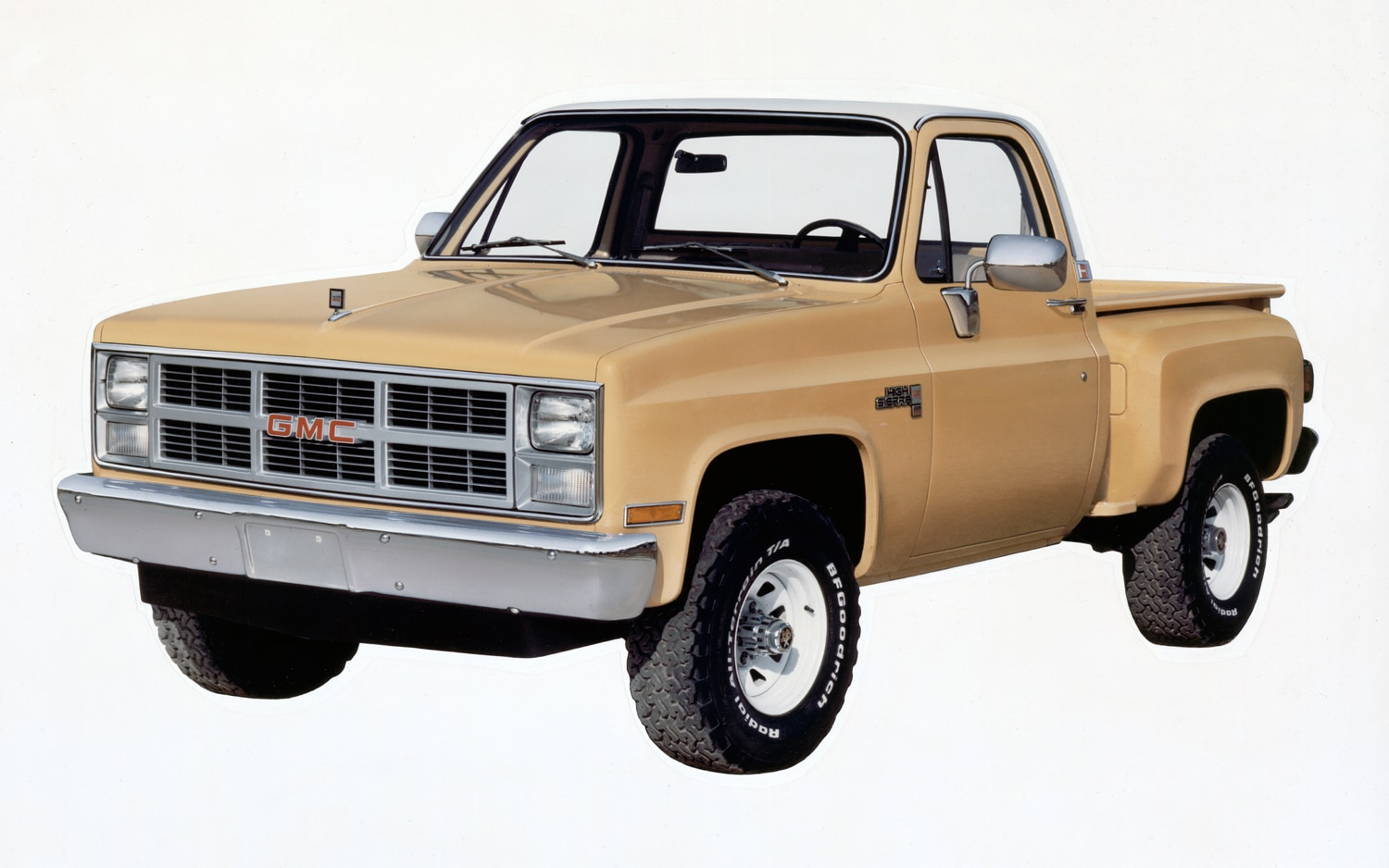 1983 GMC K 1500 High Sierra Fenderside Pickup Front