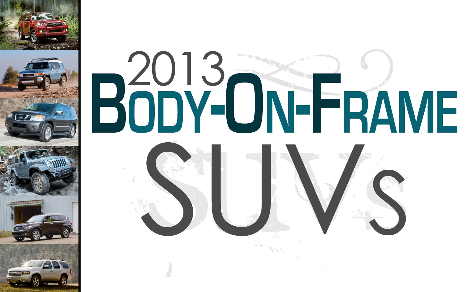 2013-Body-On-Frame-SUVS