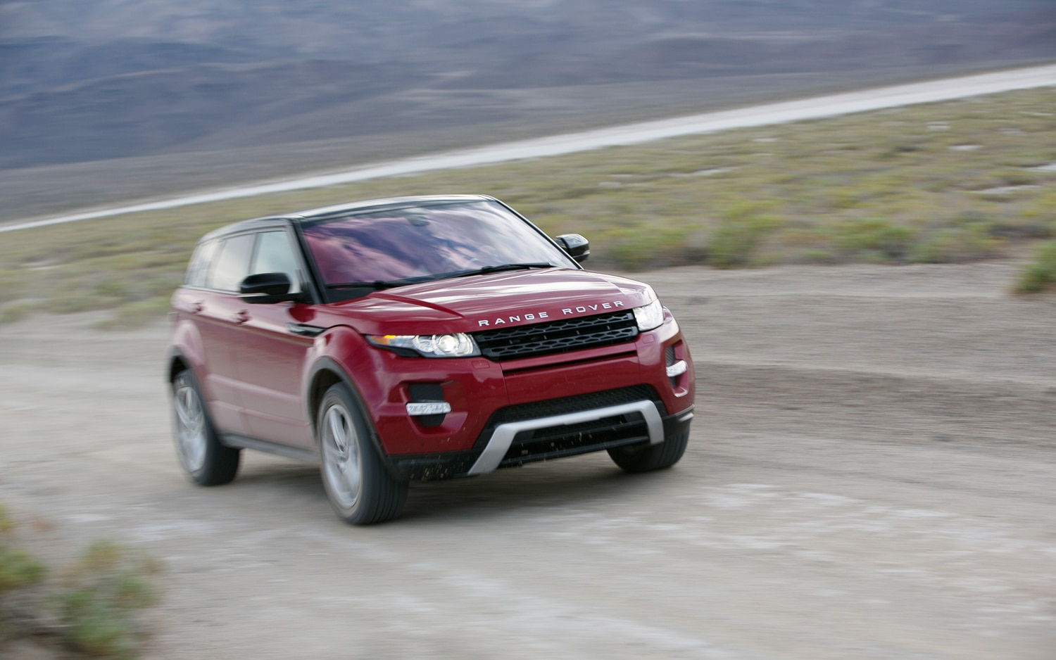 2012 Land Rover Range Rover Evoque Front Three Quarter In Motion
