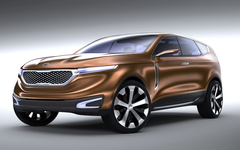 2013 Chicago: Kia Cross GT Concept First Look