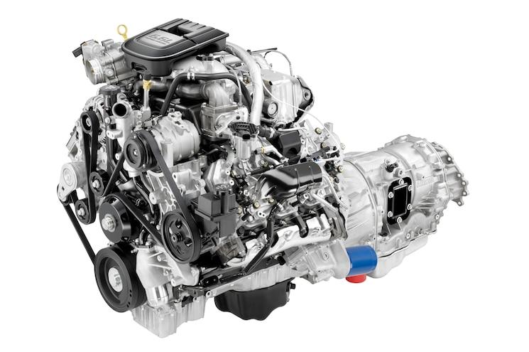 2011 Duramax V 8 Turbo Diesel