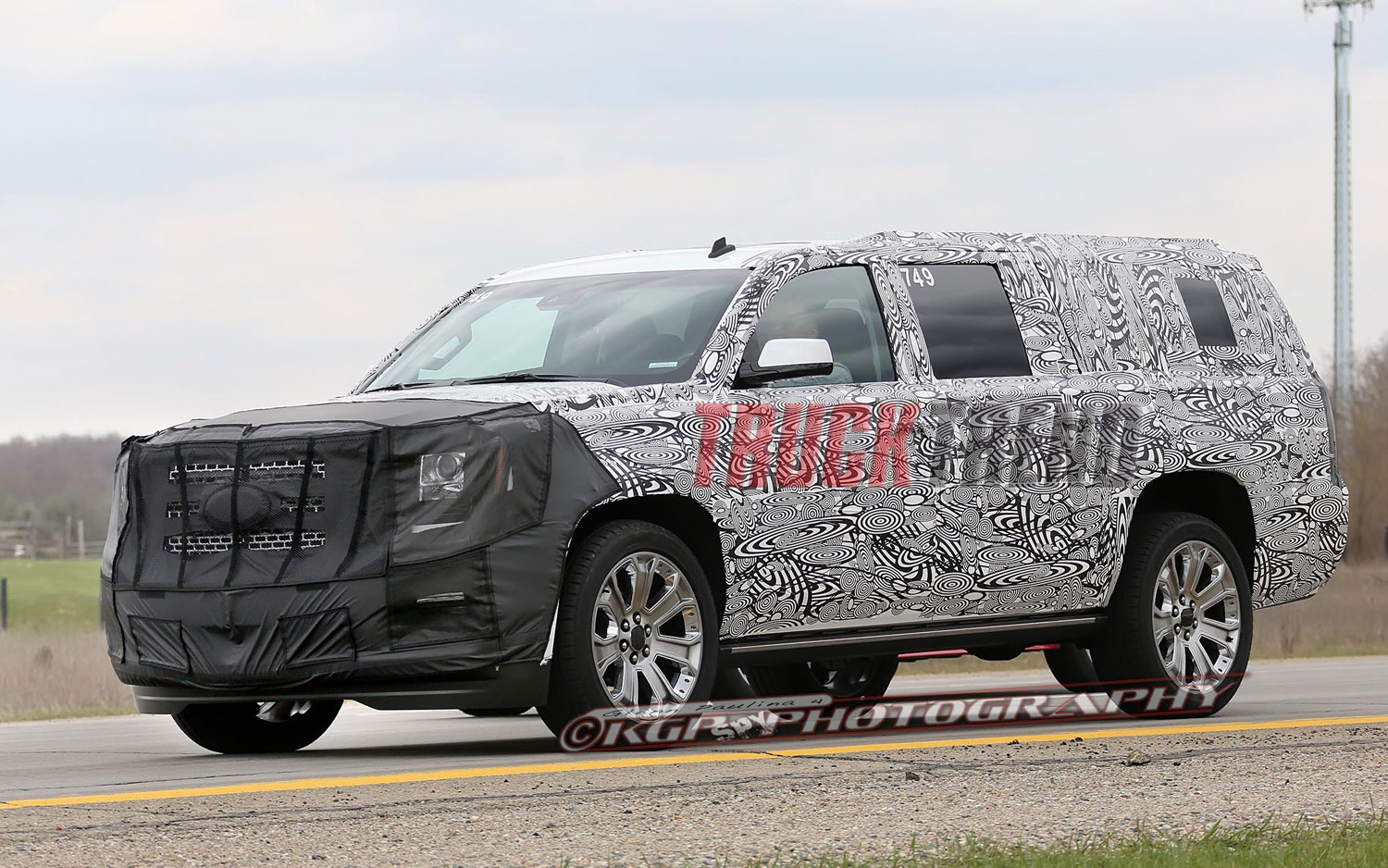 2015 GMC Yukon, XL Denali, and Chevrolet Tahoe Spied!