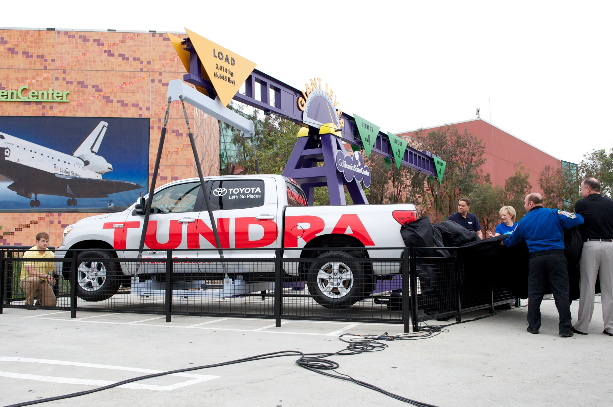 Toyota Tundra Eneavour Tow Truck Now Part of Science Display