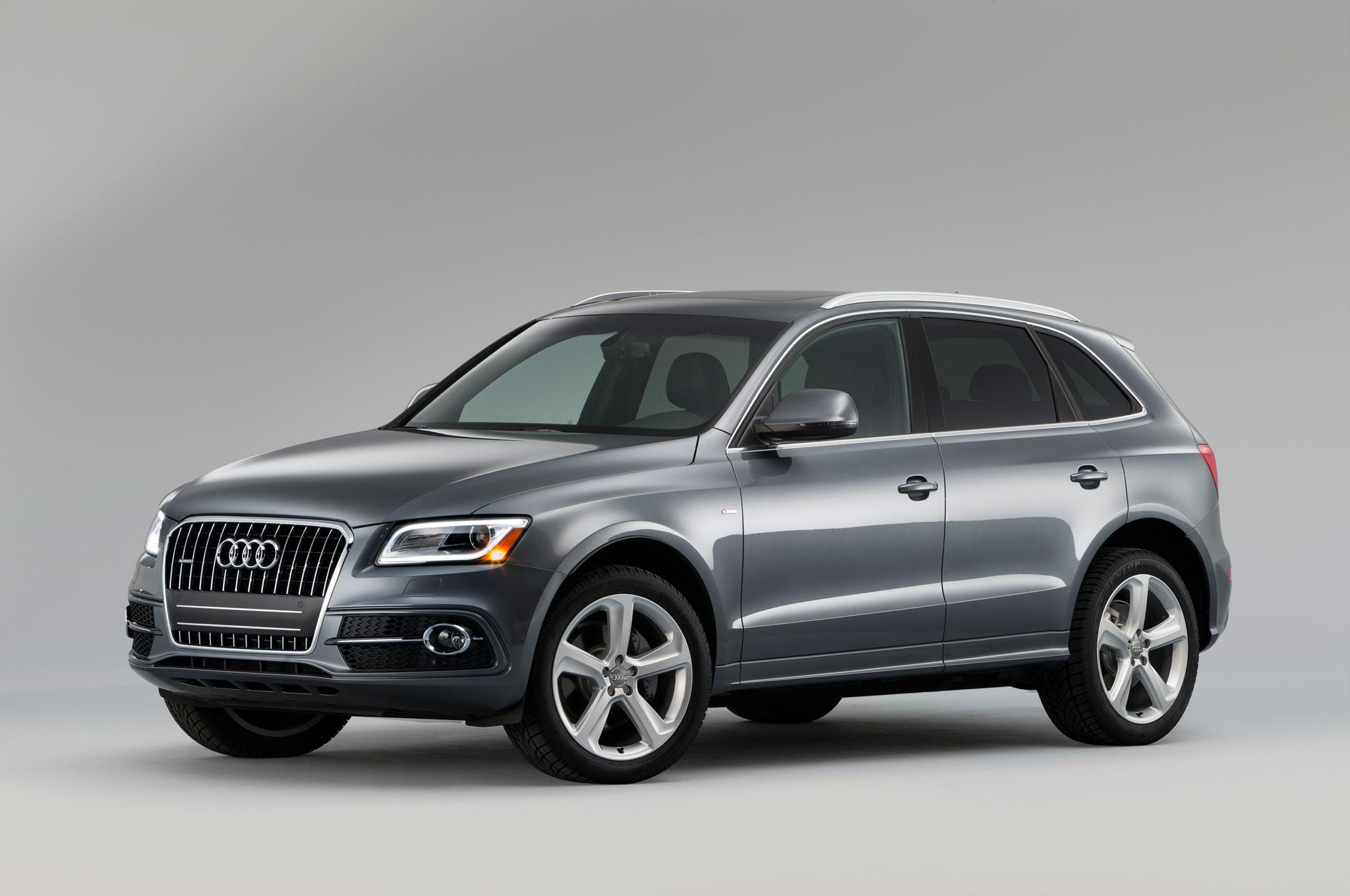2017 Audi Q5 S Line Front View