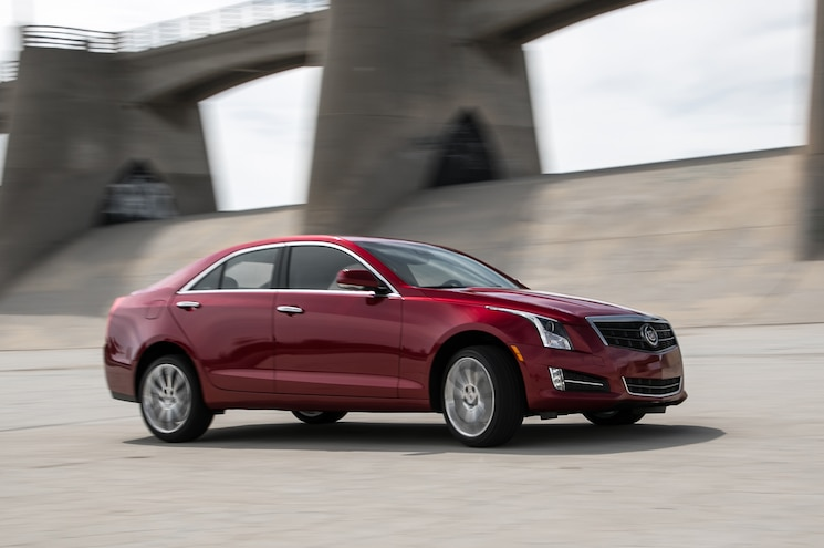 2013 Cadillac ATS4 Premium Front View In Motion