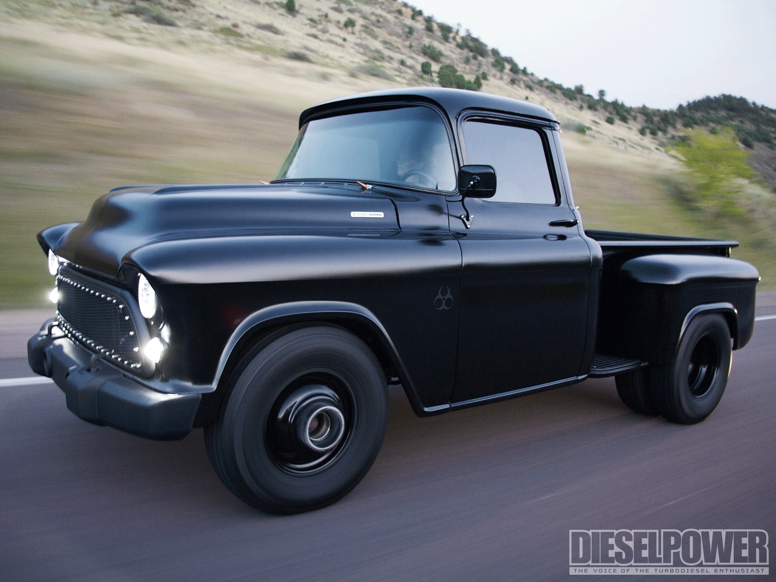 1957 Chevy Pickup Duramax - Diesel Power Magazine