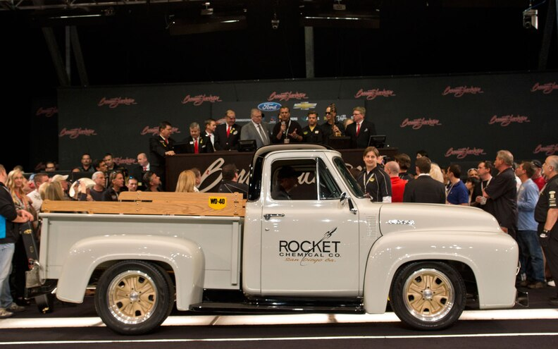Chip Foose Customized 1953 Ford F-100 Fetches $170,000 at Auction