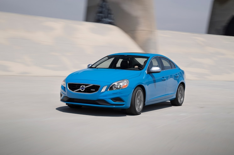 2013 Volvo S60 T6 AWD R Design Front Three Quarters In Motion