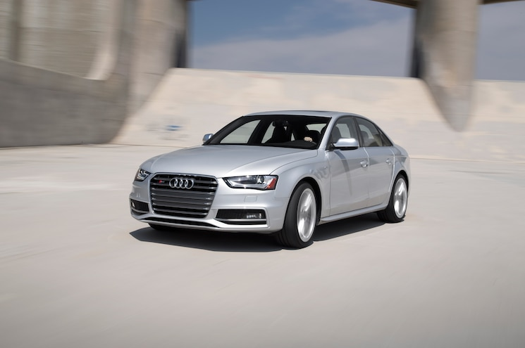 2013 Audi S4 Front Three Quarter In Motion
