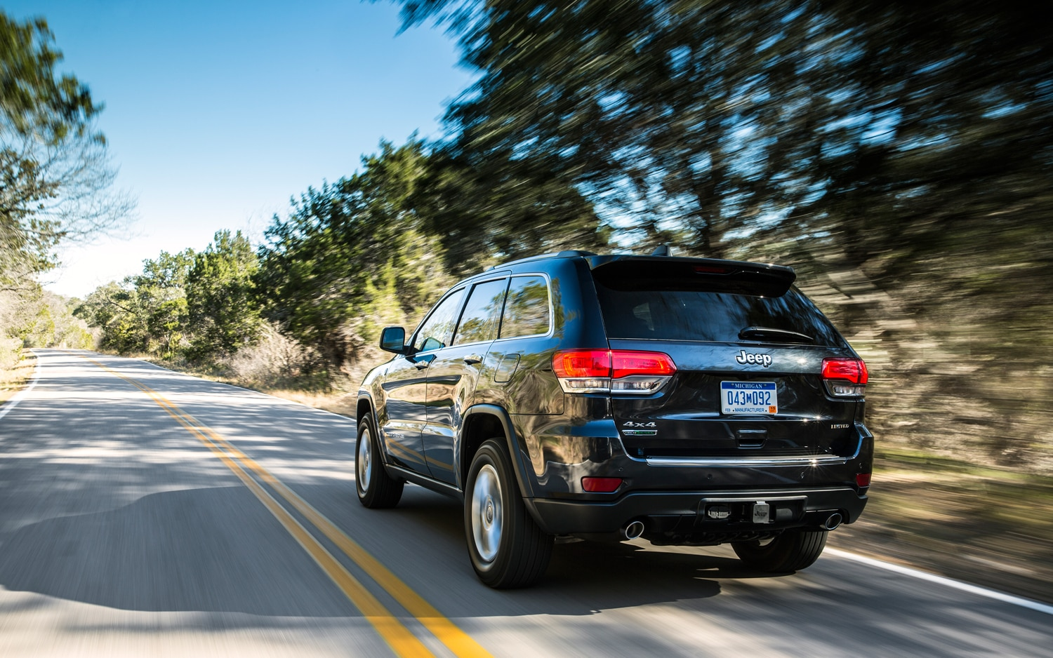 2014 Jeep Grand Cherokee Diesel Rear