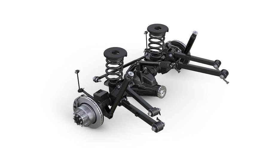 2014 Ram 2500: Five-Link Coil Rear Suspension