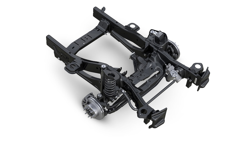 2014 Ram 2500 Front Suspension