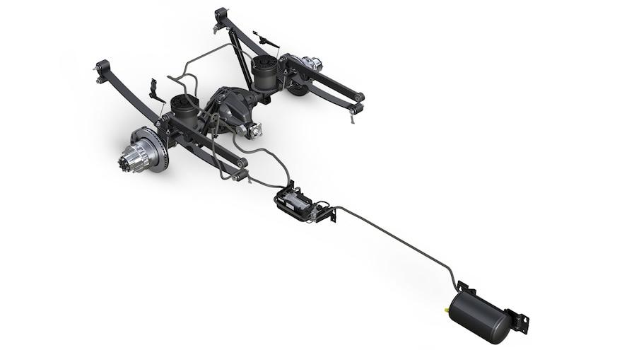 2014 Ram 3500 Rear Leaf Suspension With Air Ride