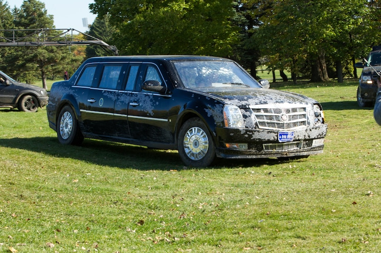 """Driving the Cadillac Presidential Limo From """"White House Down"""""""