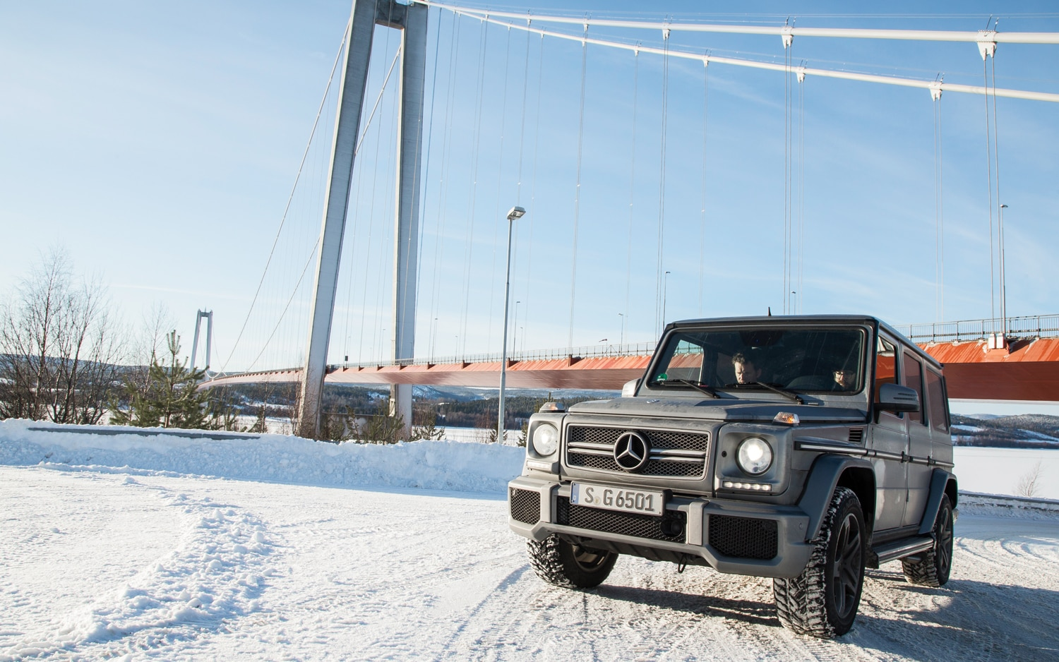 2013 Mercedes Benz G65 AMG Frpnt Three Quarters