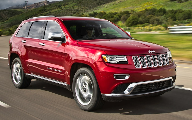 2014 Jeep Grand Cherokee Summit EcoDiesel First Test