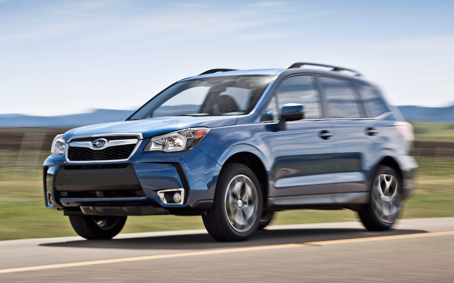 2014 Subaru Forester 2 5i Limited Xt First Test Photo Image Gallery