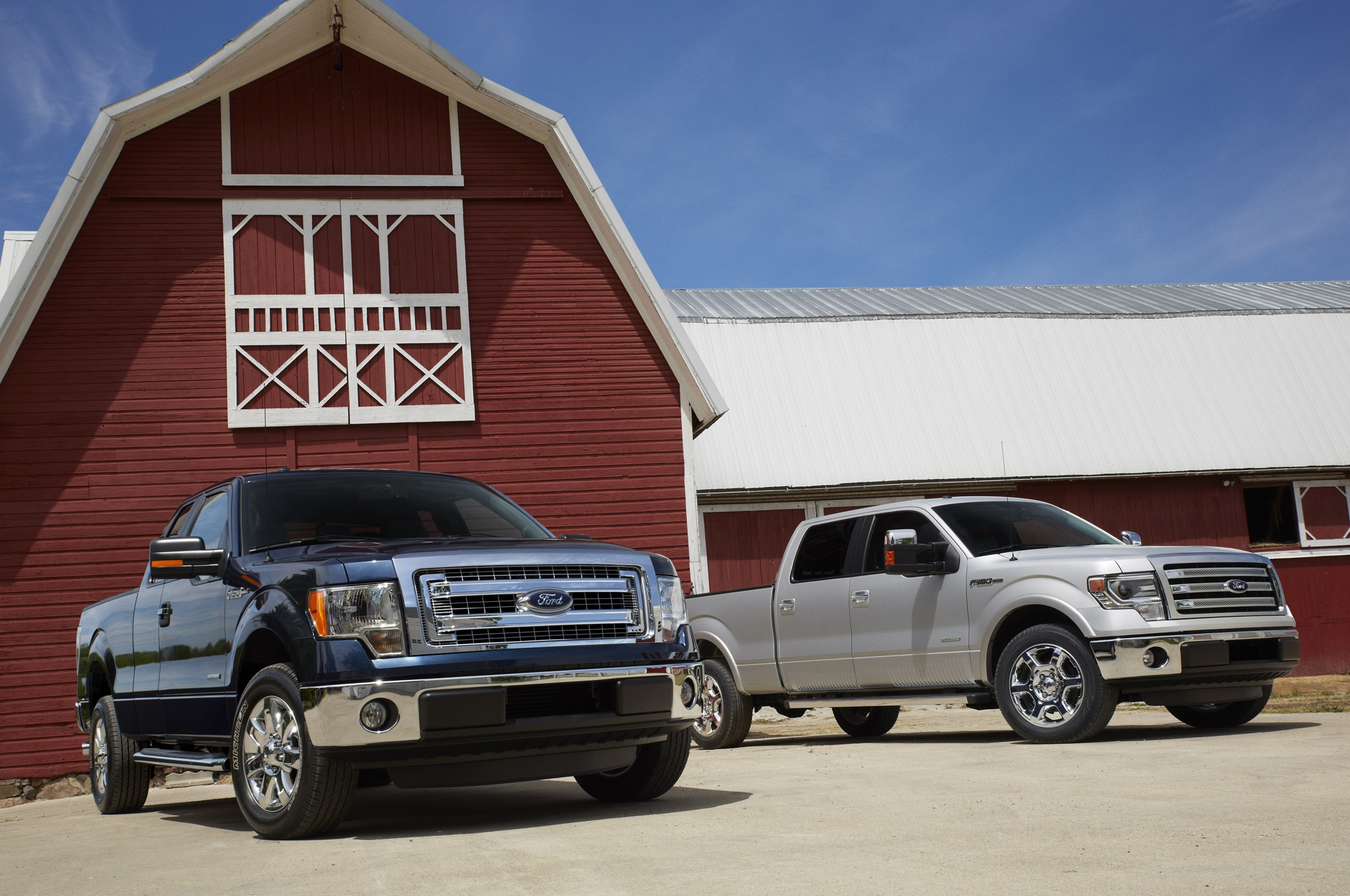 2013 Ford F150 Xlt And Lariat