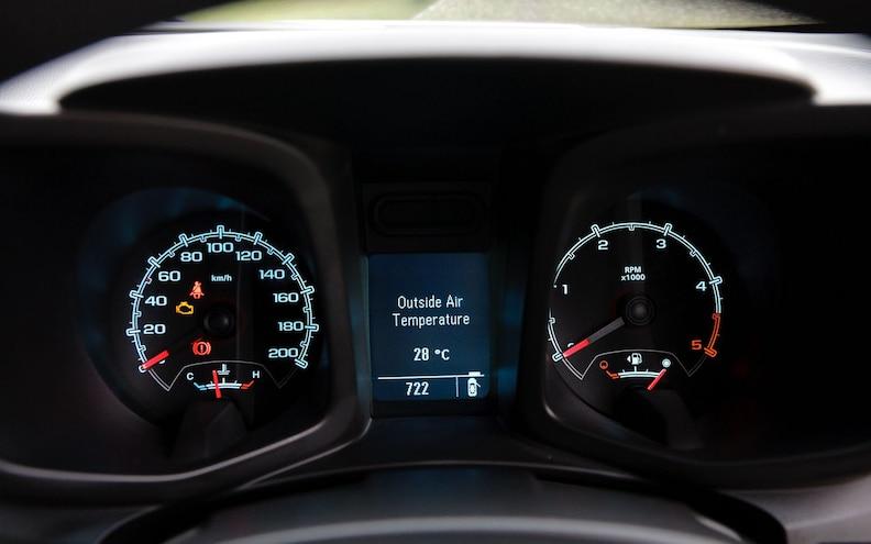 2012 Global Market Chevrolet Colorado Dash Guages