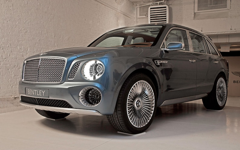 Official: Bentley SUV Coming by 2016