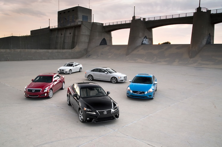 The Big Test: 2013/2014 Luxury Sport Sedans