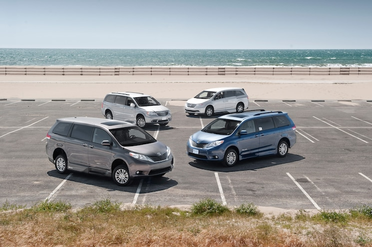 Chrysler, Honda, and Toyota Mobility Vans
