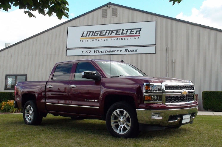 2014 Chevrolet Silverado with Lingenfelter Supercharger Lays Down Sub 14-Second Quarter