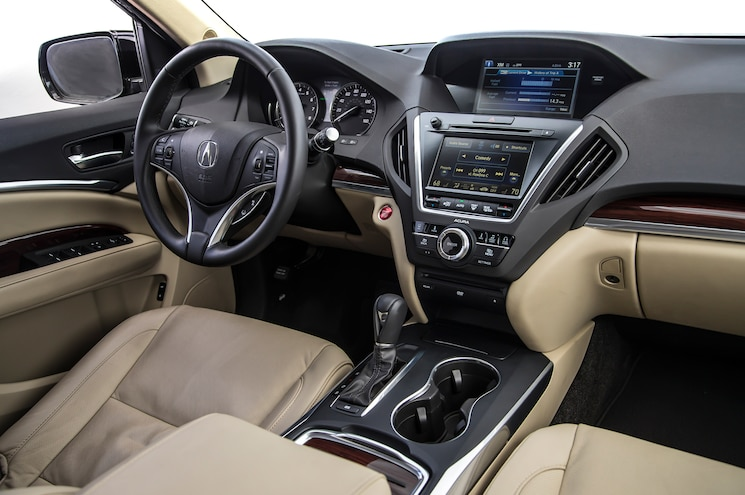 2014 Acura MDX SH AWD Front Interior