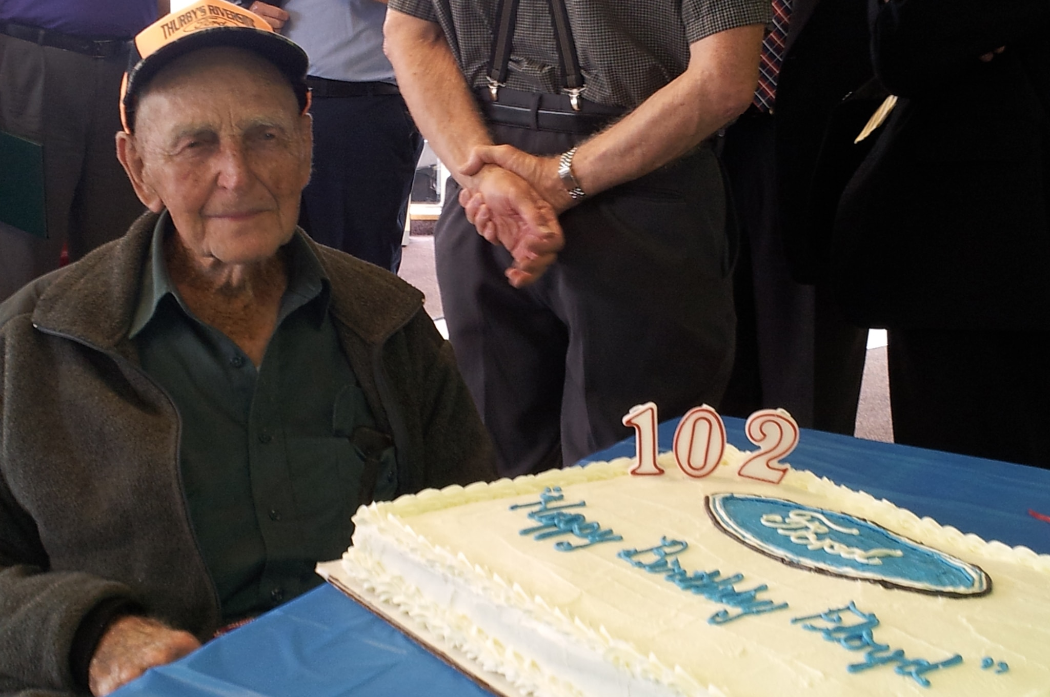 Ford Recognizes 102 Year Old Customer As Ford Trucks President For A Day Photo Image Gallery