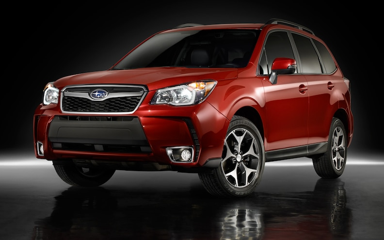 2014 Subaru Forester Turbo Front View