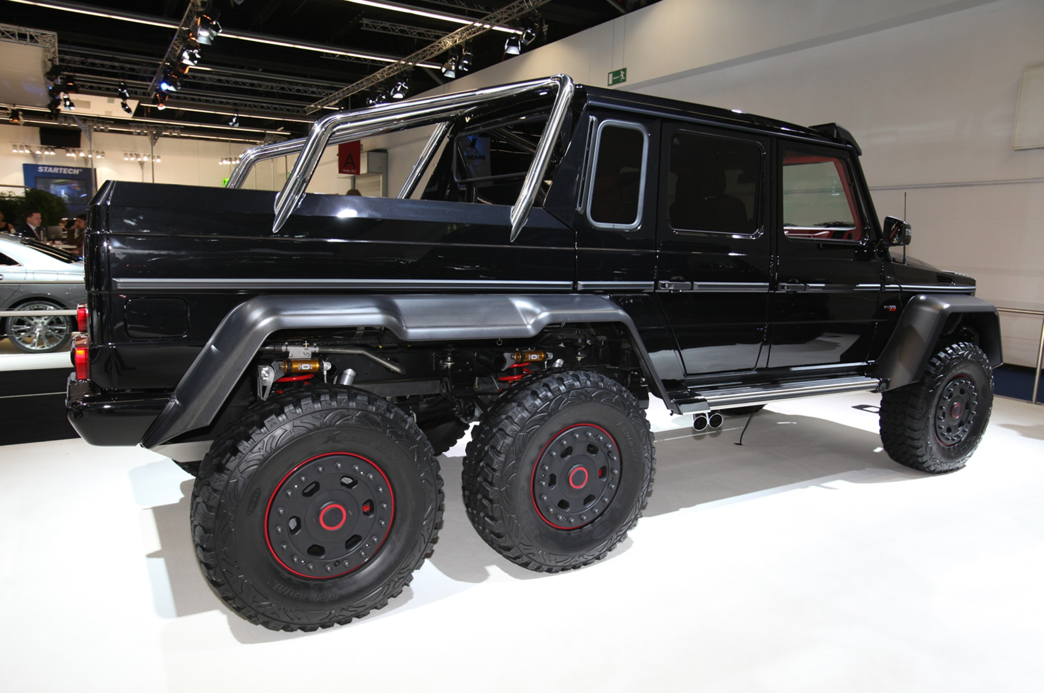 brabus b63 s because the mercedes benz g63 amg 6x6 wasn t