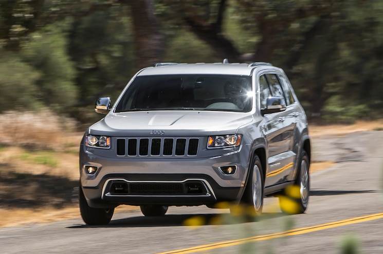2014 Jeep Grand Cherokee V6 Limited Front