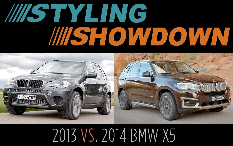 2013 Vs 2014 Bmw X5 Styling Showdown Truck Trend
